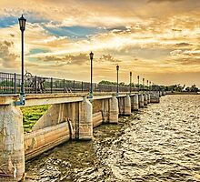 The Overholser Dam was built in 1917 by JohnDSmith