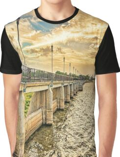 The Overholser Dam was built in 1917 Graphic T-Shirt
