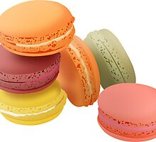 macarons 2 sticker by raffons