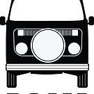 ROAM VW Bay Window Campervan  by ROAM  Apparel
