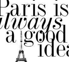 Paris, je t'aime Sticker