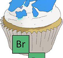 Baking Bad cupcake by salodelyma