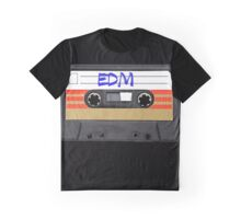 EDM - Electronic Dance Music cassette tape Graphic T-Shirt