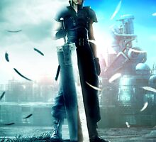 Final fantasy VII- Zack and Cloud by salodelyma