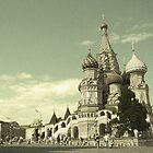 20th century Saint Basil's Cathedral by Jeffrey So