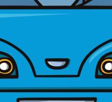 blue car Sticker