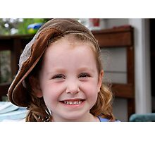 Big Smile - Big Hat  Photographic Print
