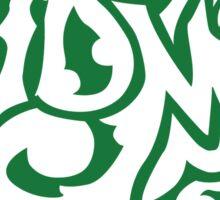 JDM Royal Typography - Green Sticker