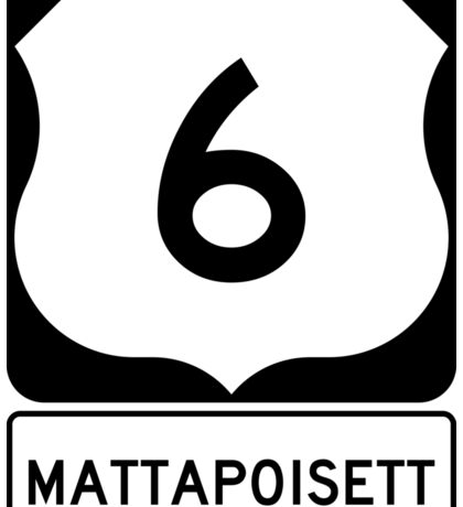 US 6 - Mattapoisett Massachusetts Sticker