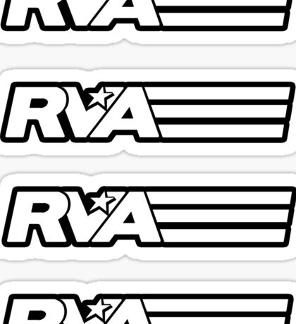 RVA - A Real Local Hero! STICKERS Sticker