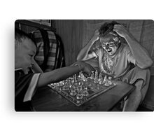 Check Mate! Canvas Print