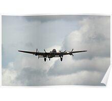 Avro Lancaster Bomber WW2 Poster