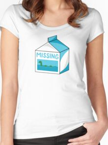 Missing Women's Fitted Scoop T-Shirt