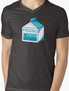 Missing Mens V-Neck T-Shirt