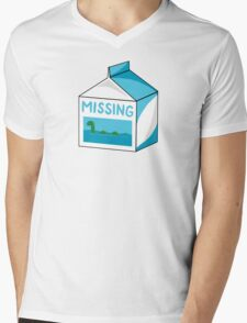 Missing Mens V-Neck T-Shirt