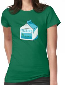 Missing Womens Fitted T-Shirt