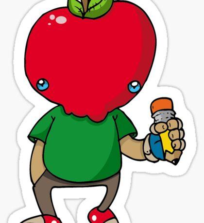 Apple Jakk Red Sticker