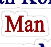 A South Korean Man Owns My Heart  Sticker