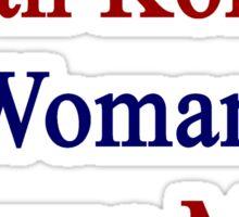 A South Korean Woman Owns My Heart  Sticker