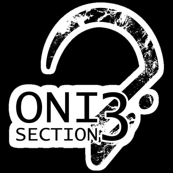 ONI Section 3 - Badge Sticker by devoltar
