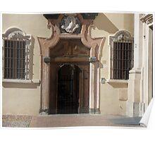 the ancient SPEZIERIA of the ABBEY OF S.GIOVANNI EVANGELISTA - PARMA - ITALY - EUROPE-  2200 VISUALIZZAZ .ottobre 2013--VETRINA RB EXPLORE 26 GIUGNO 2012 --                          Poster