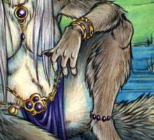 Werewolf Lake  Sticker