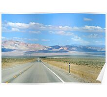 Nevada Lonely Road Poster