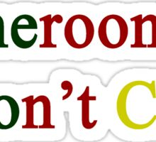 Cameroonians Don't Cry  Sticker
