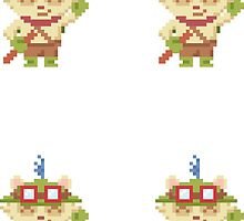 Four (4) Teemo Stickers by Beemes