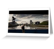 Crossing the Clyde, Glasgow  Greeting Card