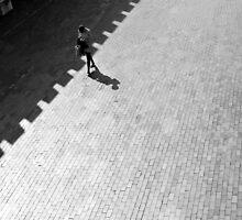 Diagonal Walk by LindaWisdom