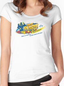 Falcon's Punch! Women's Fitted Scoop T-Shirt