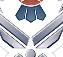 Thunderbirds Logo for Dark Colors Sticker