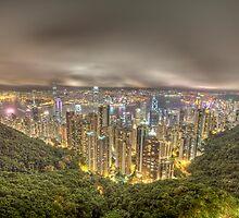 hong kong island by paulcowell