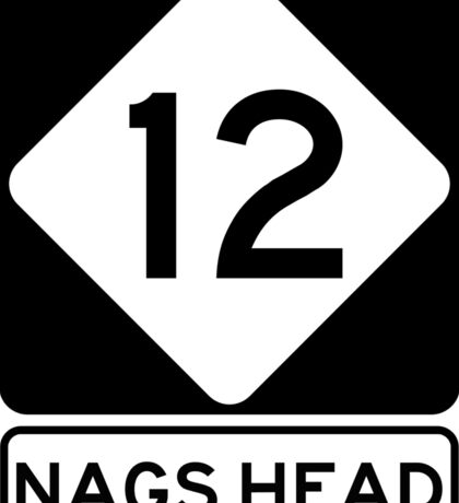 NC 12 - Nags Head Sticker
