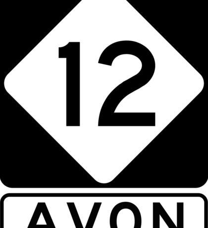 NC 12 - Avon Sticker
