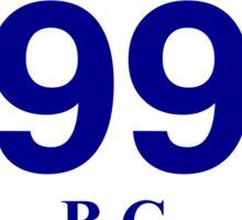 BC 99 - Horseshoe Bay Sticker