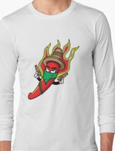 Mr. Spicy HOT Long Sleeve T-Shirt