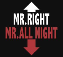 Mr. ALL NIGHT T-Shirt