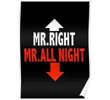 Mr. ALL NIGHT Poster