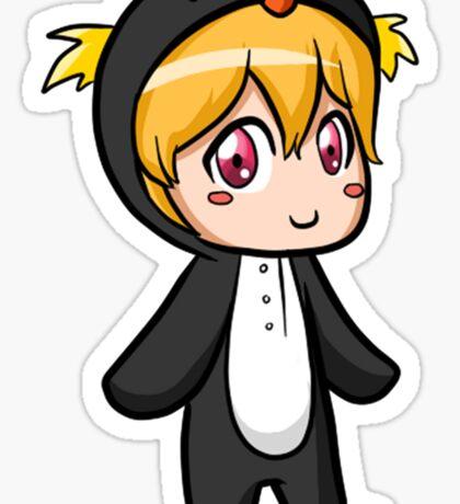 Nagisa Penguin Kigurumi (Iwatobi Swim Club) Sticker