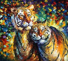 SWEETNESS  - OIL PAINTING BY LEONID AFREMOV by Leonid  Afremov