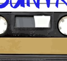 COUNTRY MUSIC CASSETTE TAPE Sticker