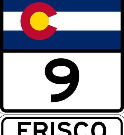 CO-9 Frisco Colorado Sticker