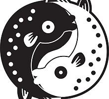 Ying Yang Fish by phobos