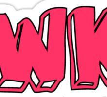 awks. Sticker