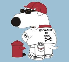 Beware of dog Kids Tee