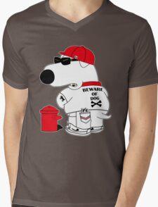 Beware of dog Mens V-Neck T-Shirt