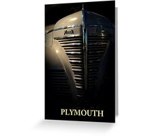 PLYMOUTH Greeting Card