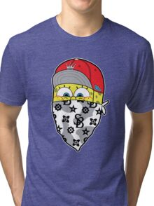 Sponge gang Tri-blend T-Shirt